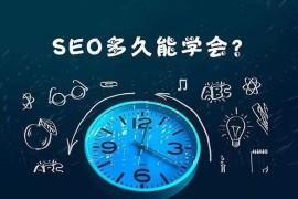 SEO网络优化要学多久