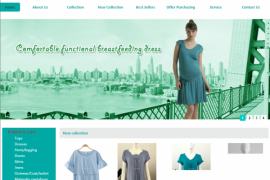 如何设计制作开发一个出彩的服装网站