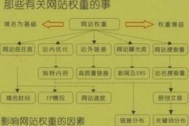 基础类SEO秘诀:浅析网站权重计算因子