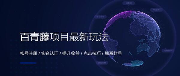 百度百青藤项目玩法全套教程 联盟广告 网赚 百度 经验心得 第1张